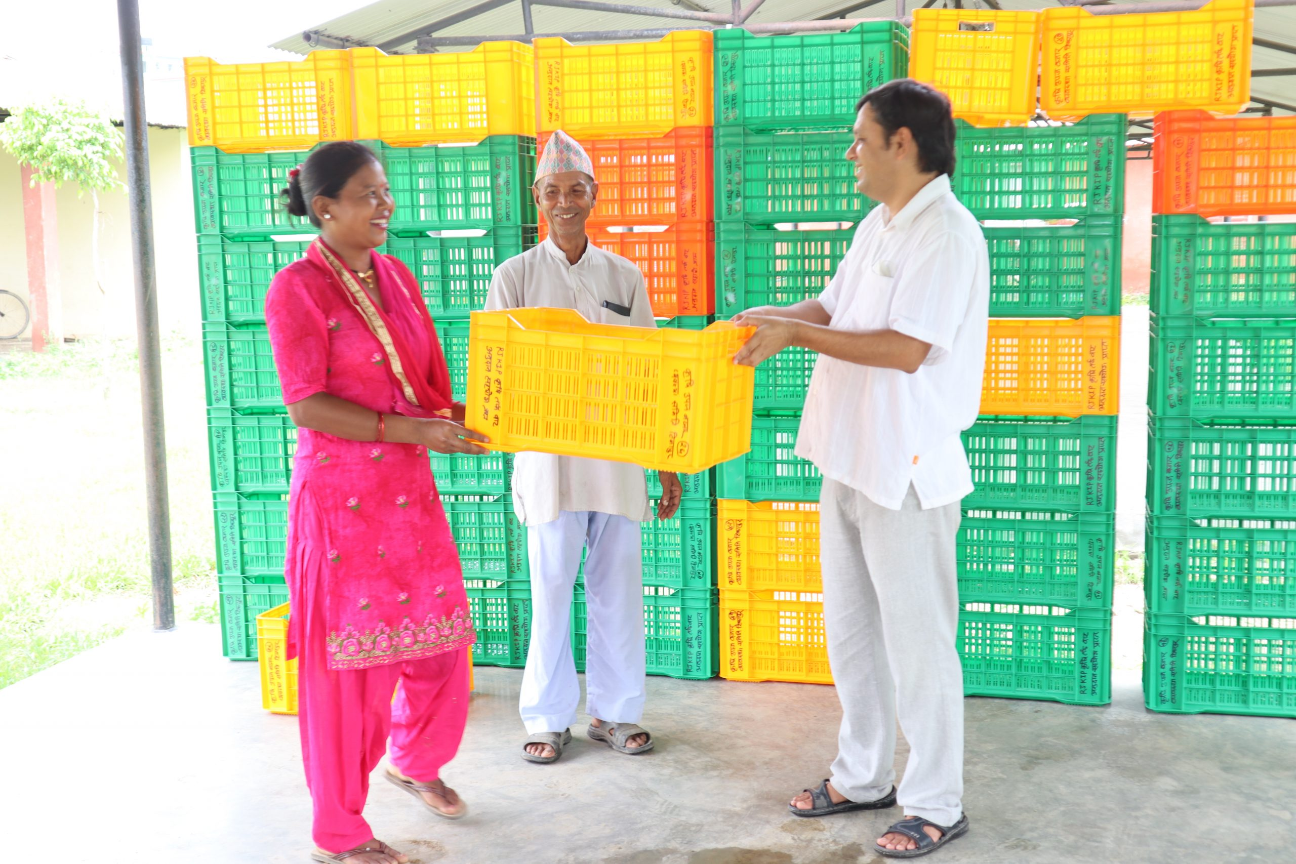कृषकलाई क्यारेट हस्तानतरण कार्यक्रम